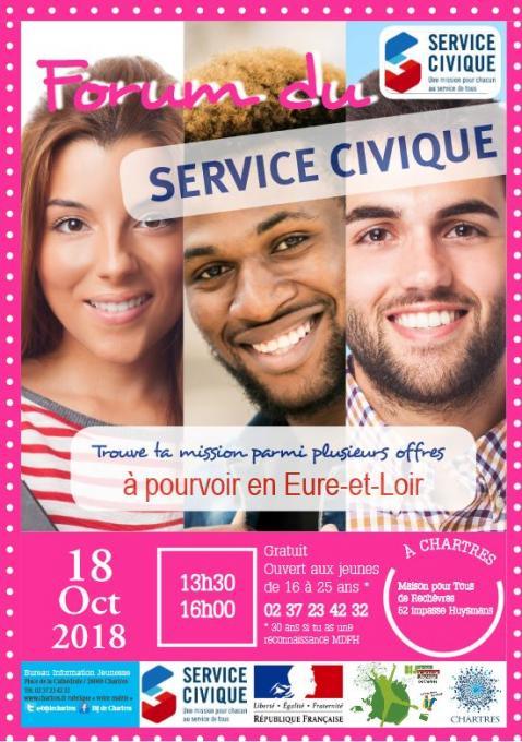 Forum service civique chartres